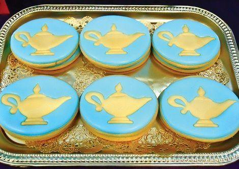 cumpleanos princesas jasmin galletas formas