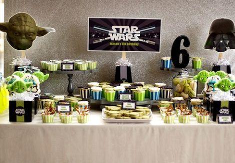 cumpleanos star wars mesa