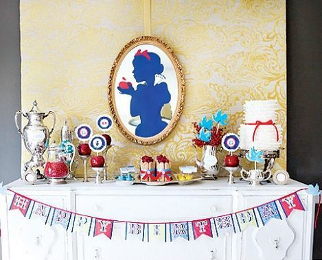 fiesta cumpleanos blancanieves