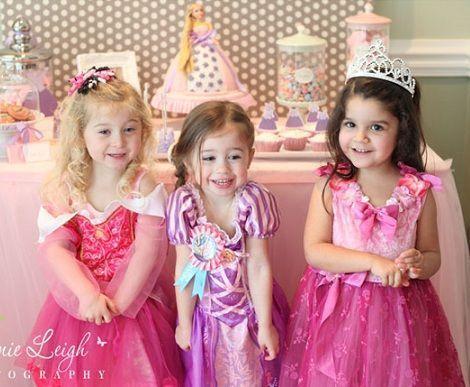 fiesta cumpleanos princesas