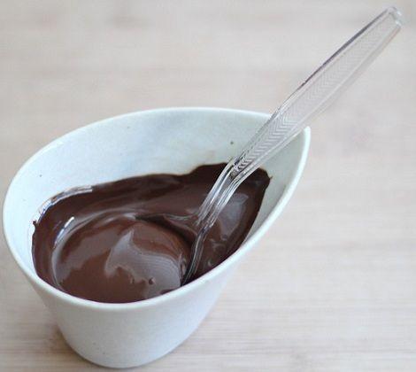 huevos pascua receta chocolate derretido