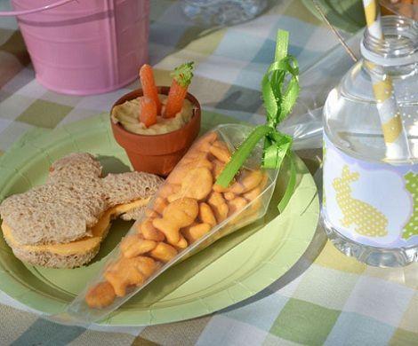 ideas mesa pascua conejo zanahorias