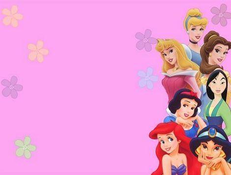 invitaciones cumpleanos princesas
