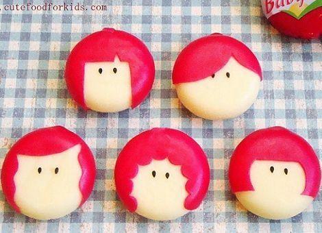 recetas infantiles babybel peinados