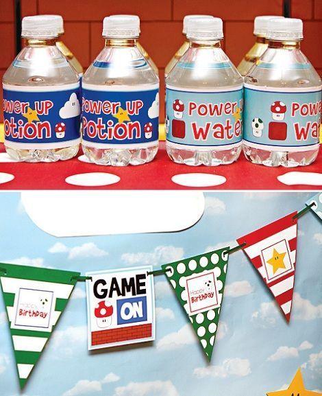 super mario party dessert agua