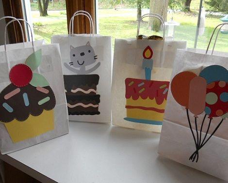 bolsas cumpleanos dibujos