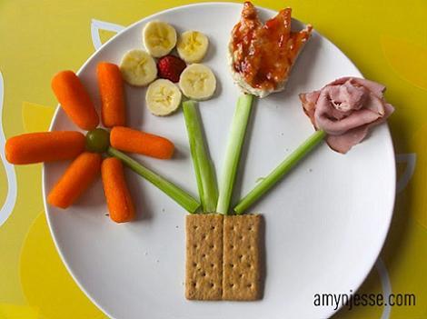 comida divertida niños original