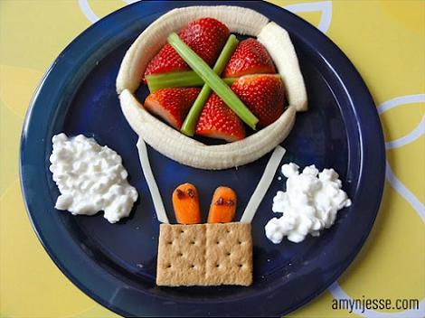 comida divertida niños