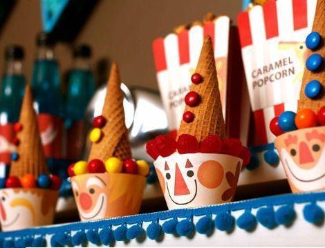 cumple circo helados