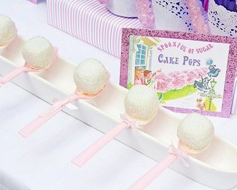 cumpleanos mary poppins cake pops
