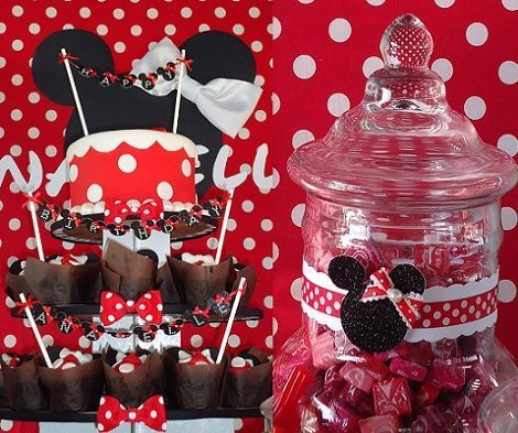 cumpleanos minnie mouse sweets