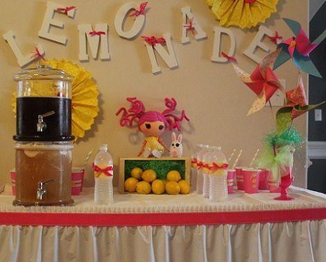 cumpleanos munecas limonada