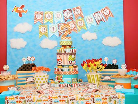 Fiesta de cumpleaños niño