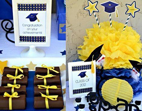 fiesta fin de curso diplomas