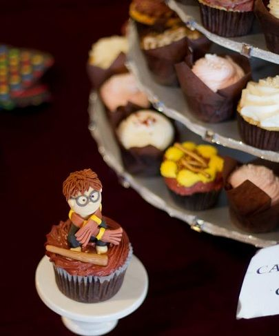 fiesta harry potter cupcakes