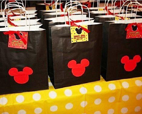 fista mickey mouse bolsas