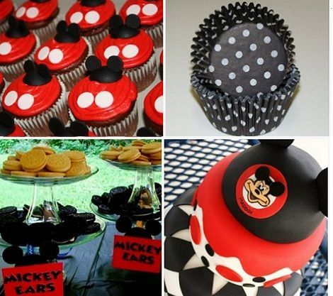 fiesta mickey mouse dulces