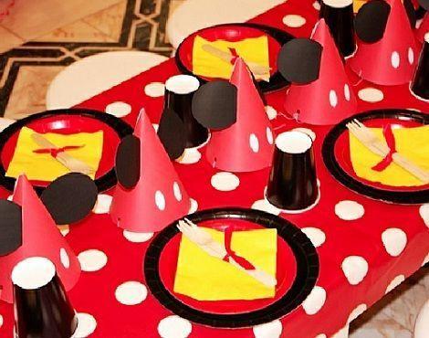 fiesta mickey mouse mesa ninos
