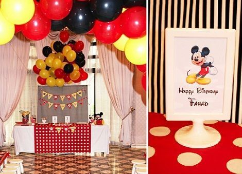 fiesta mickey mouse salon