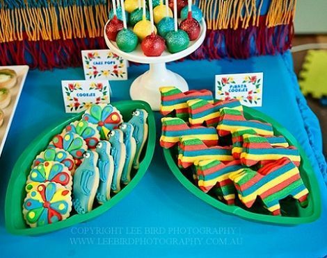 fiesta tropical cookies