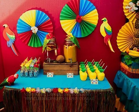 fiesta tropical limonada