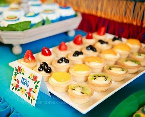 fiesta tropical mini tartas