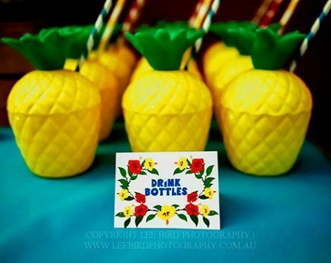fiesta tropical vasos