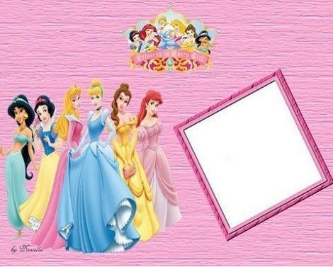 invitaciones cumpleanos imprimir gratis princesas