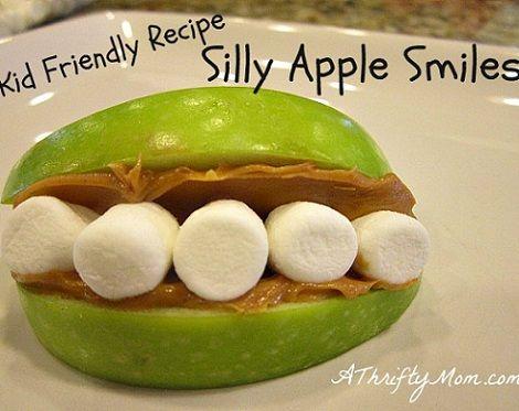 manzanas sonrientes