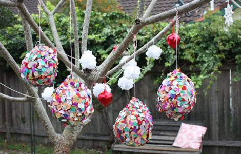 Piñata de globo