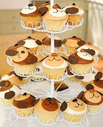 postres caseros animales cupcakes perros