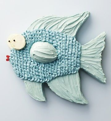 postres caseros animales tarta pez
