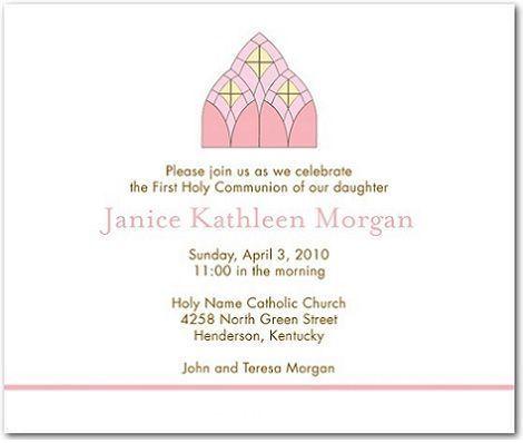 5 invitaciones comunion iglesia
