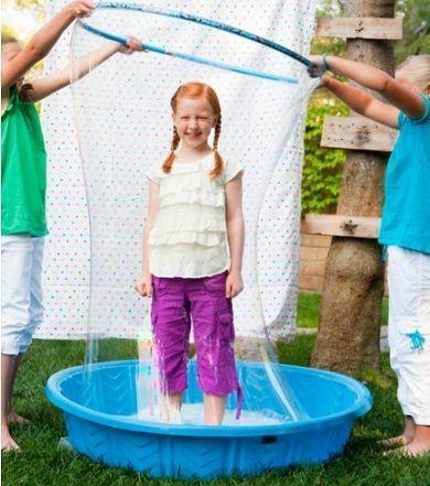 actividades verano ninos burbuja