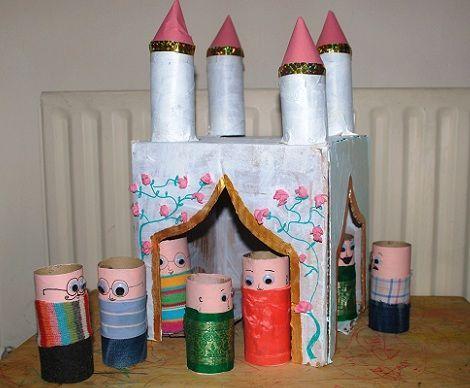 castillo rollos de papel castillo
