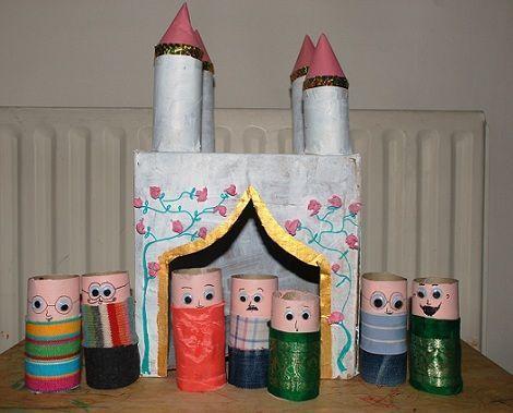 castillo rollos de papel