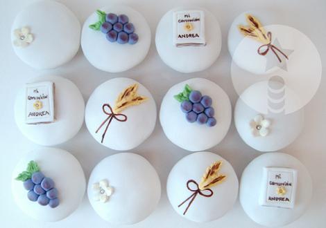 Comunión Cupcakes