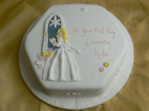Comunión: la tarta