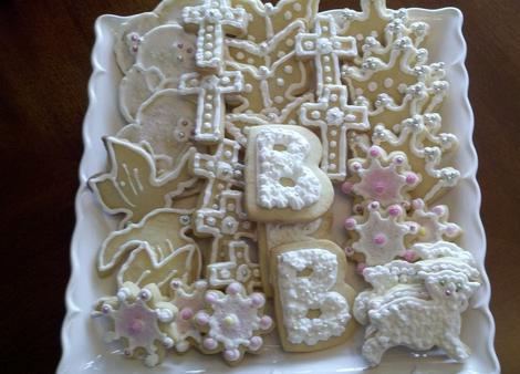 Cookies de bautizo