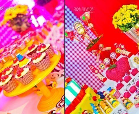 cumpleanos blancanieves cupcakes