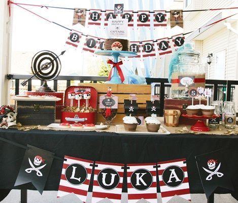 fiesta piratas mesa principal