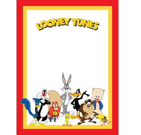 invitaciones cumpleanos divertidas looney tunes