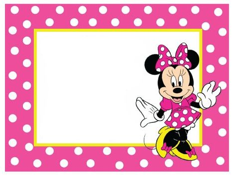 invitaciones cumpleanos originales minnie