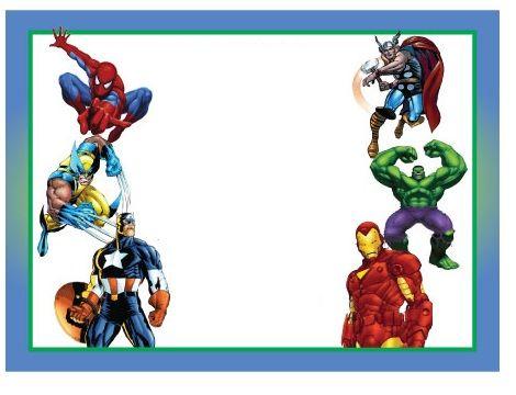 invitaciones cumpleanos originales superheroes