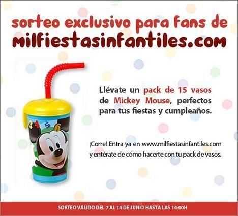 Mil Fiestas Infantiles: sorteo
