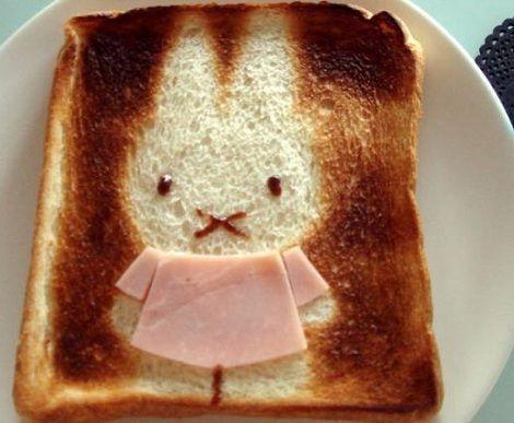 sandwiches dibujos conejito
