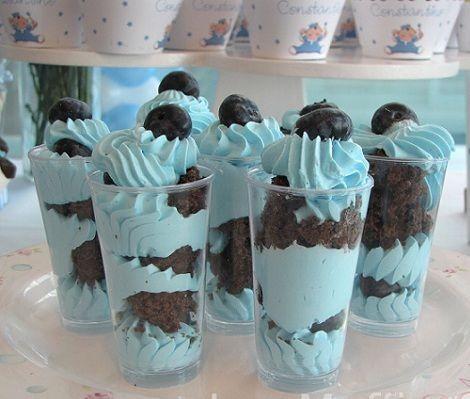 Bautizo para ni o - Como hacer centros de mesa con dulces para bautizo ...