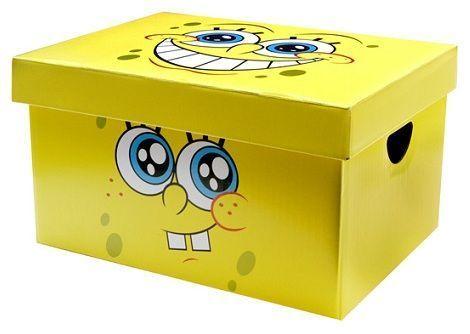 caja regalo bob esponja