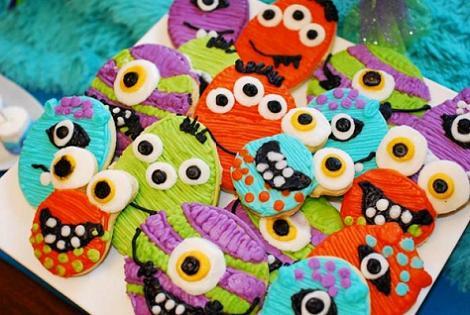Cookies monstruos