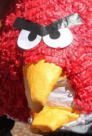 cumpleanos angry birds pinata